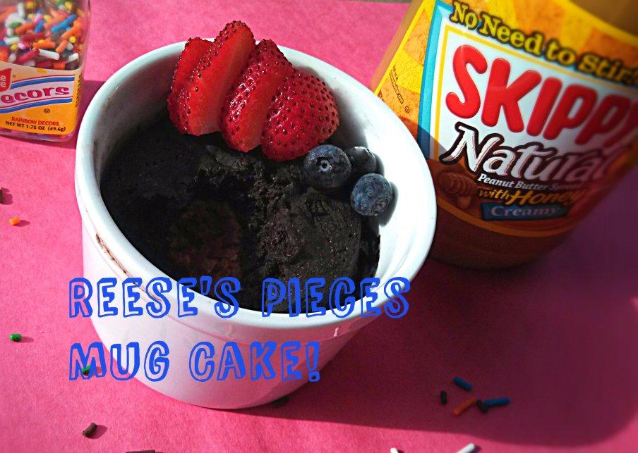 mug cake font