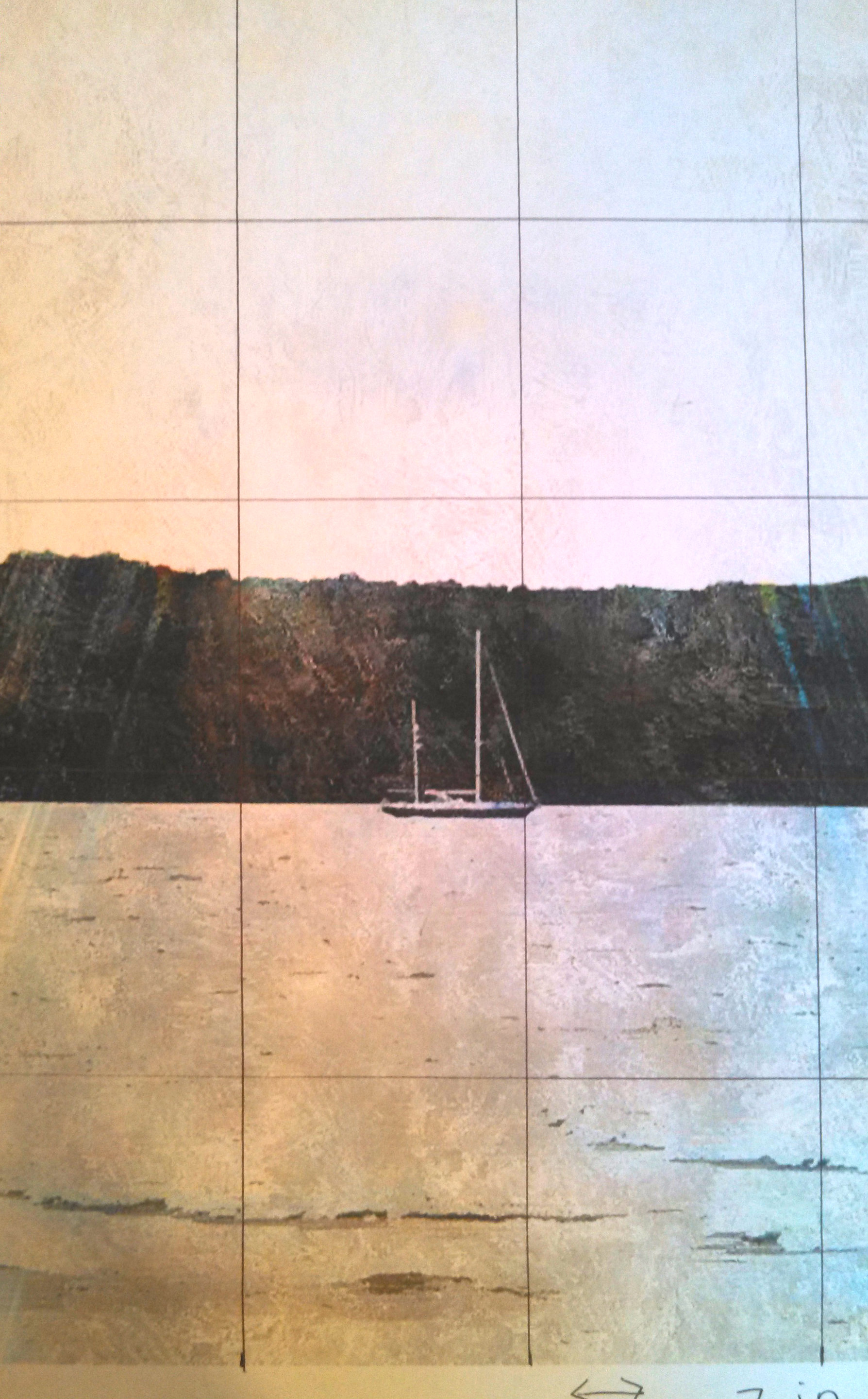 how to turn a photo into a canvas painting