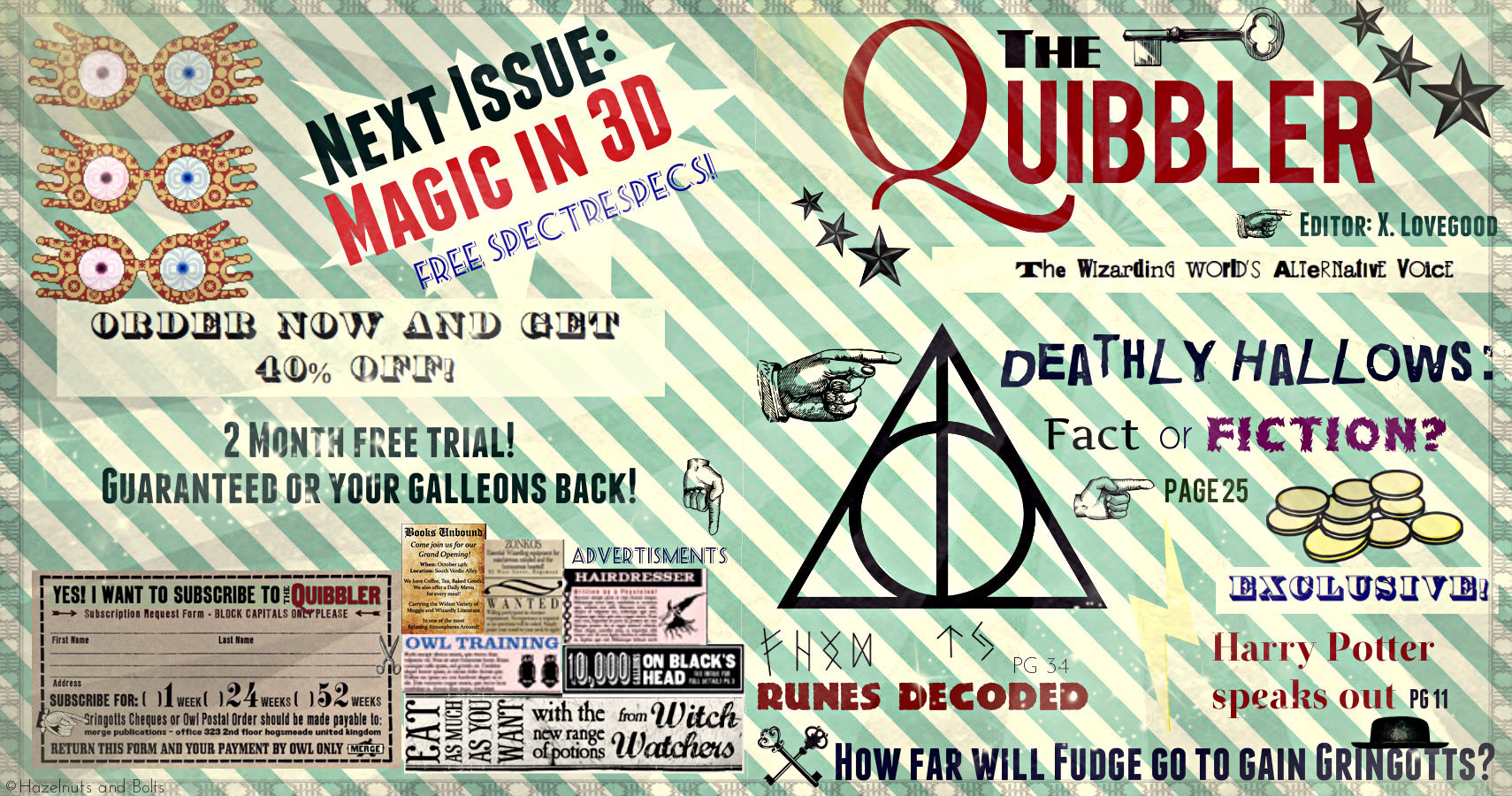 image about Quibbler Printable identify The Quibbler + Nutritious Yellow Cake!