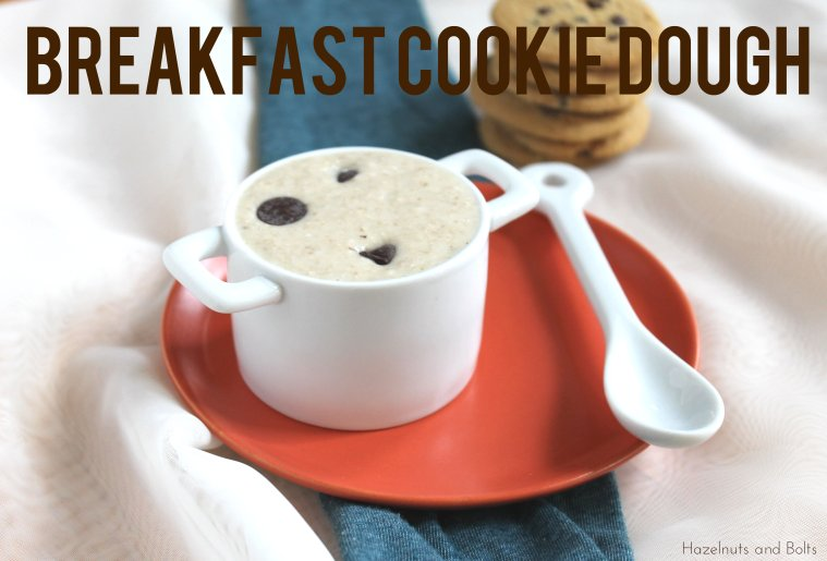 breakfast cookie dough 1