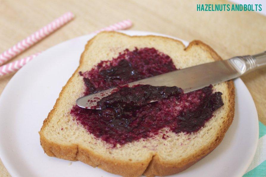 Homemade Blueberry Jam 3