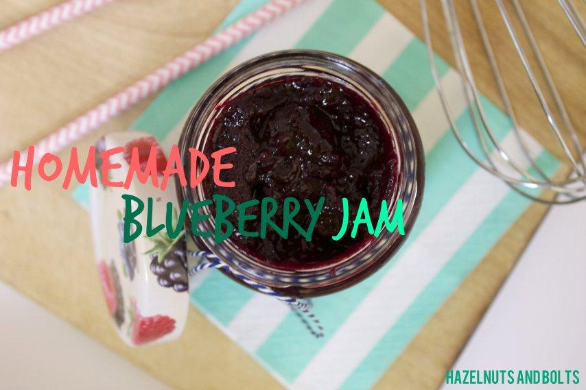 Homemade Blueberry Jam 4