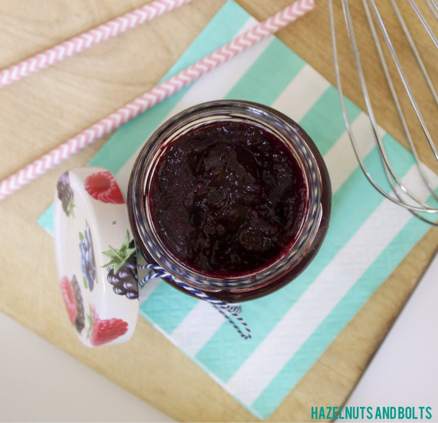 Homemade Blueberry Jam 7