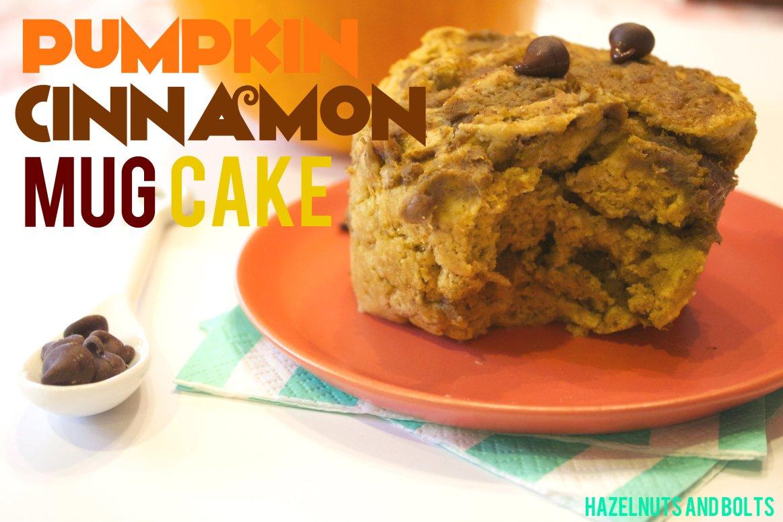 Pumpkin mug cake 4