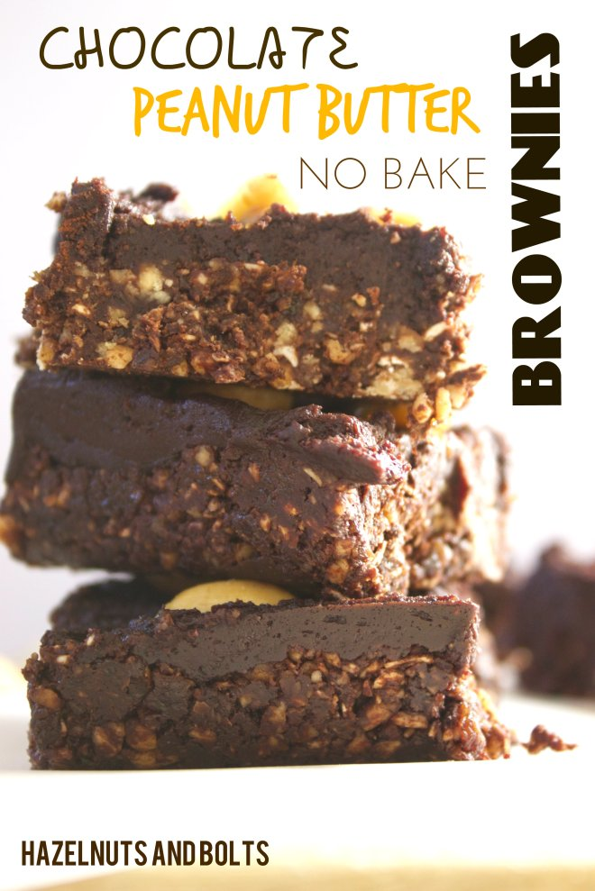 No bake pb brownies 2