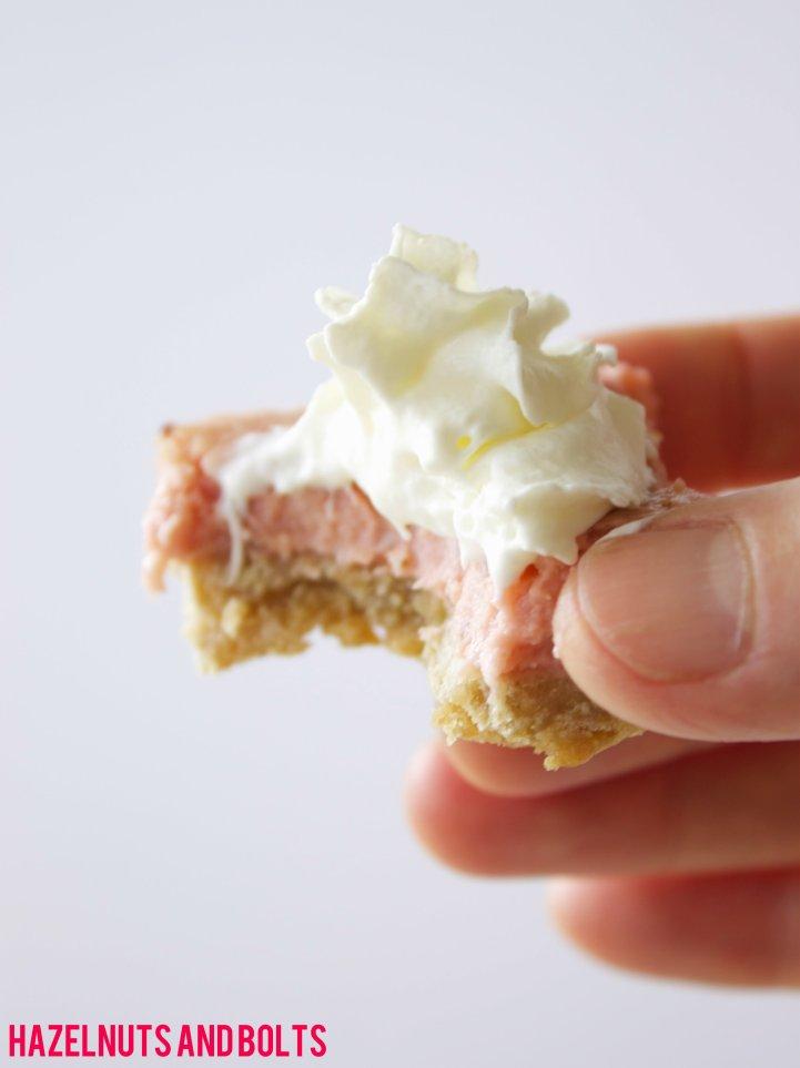 Lemon Strawberry Cheesecake Bars 3