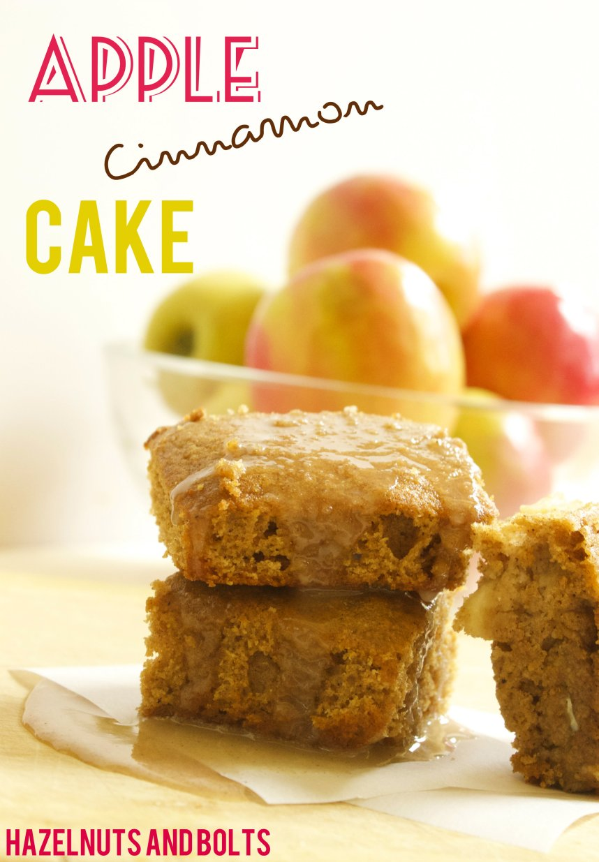 Apple Cinnamon cake 1